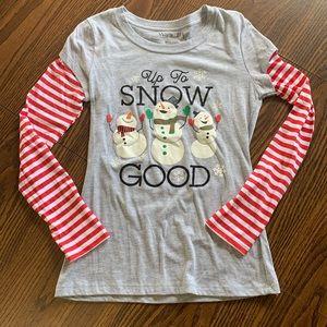 🔴3 for $10 - Snowman long sleeve tshirt